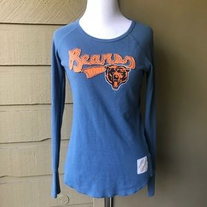 Retro Sport Chicago Bears Thermal Shirt Size Small